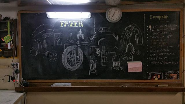 Figuring stuff out... #mtnpb #ei_marionetas_mandragora #sketches #doodles #chalkboard - Migvel Tepes